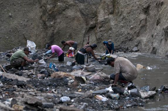 En el fondo del basurero de la zona 3 se encuentra La Mina.