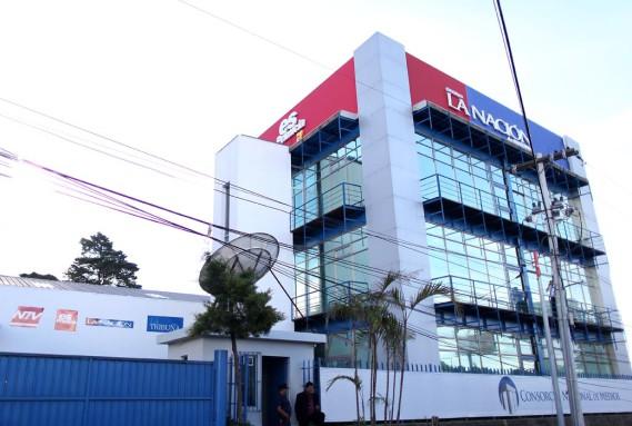 El edificio del consorcio. Foto: Carlos Sebastián