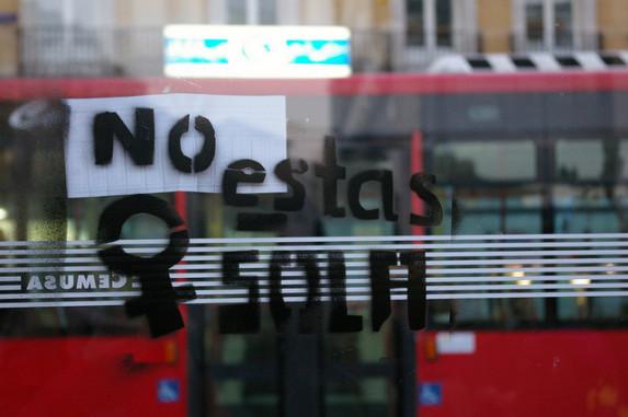 Grafiti en una cafetería en Madrid. Fuente: flickr.com/photos/gaelx/