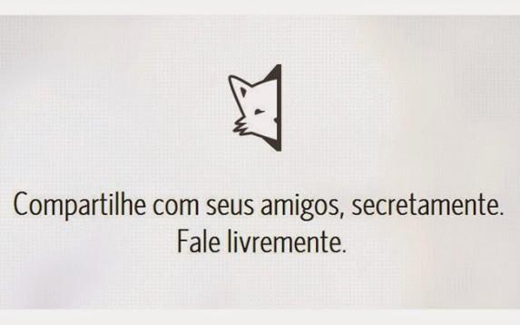 La versión brasileña de la app Secret.