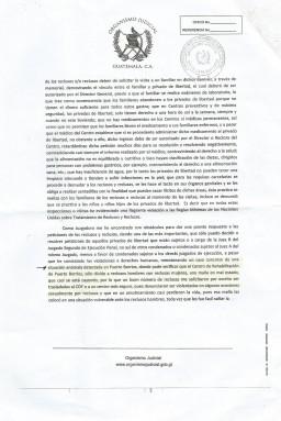 La denuncia de la jueza Batún a la que tuvo acceso Nómada. La CSJ no reaccionó.