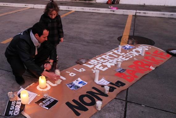 En Guatemala también hubo una velada de solidaridad.