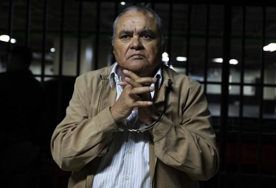 García Arredondo, en el sótano de Tribunales. Cumple otra sentencia por la desaparición de un estudiante universitario.
