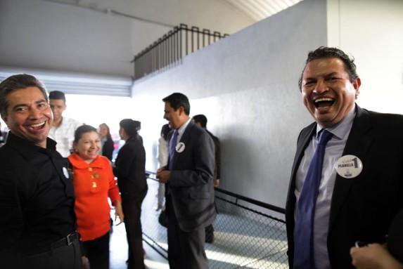 Freddy Cabrera y Lopez Villatoro, antes aliados ahora enemigos.