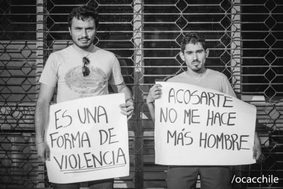 La campaña de los hombres en Chile.