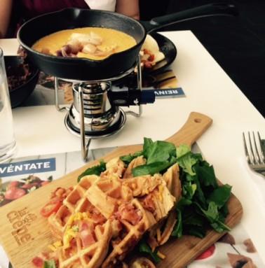 La Crepe, fondue. Foto: Fresita La Hada