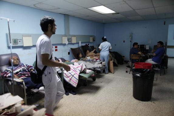 La situación no ha variado mucho respecto de marzo de 2015 en el San Juan.