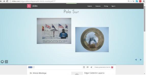 Screenshot del Slideshare de Calderón Laparra
