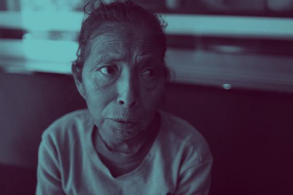 Una de los pacientes renales infectos.