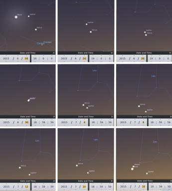 Foto: Stellarium