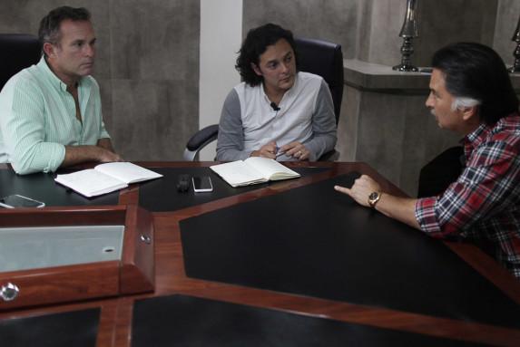 Portillo en la entrevista con Nómada.