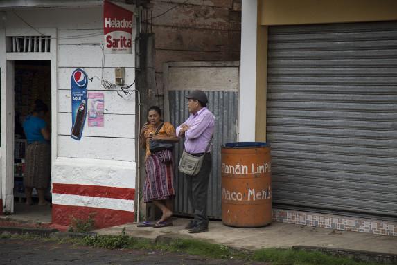 Una calle de San Miguel Panán. Foto: Dafne Pérez.