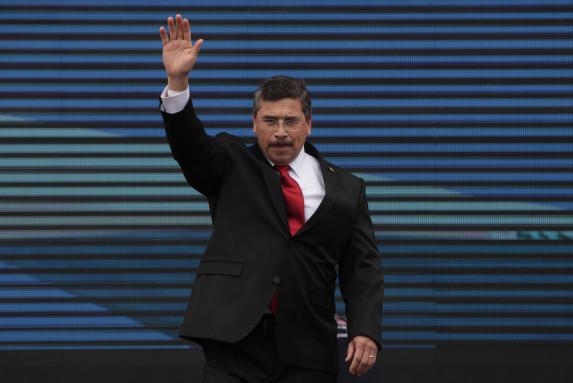 Barquín, proclamado como candidato vicepresidencial el 5 de mayo.