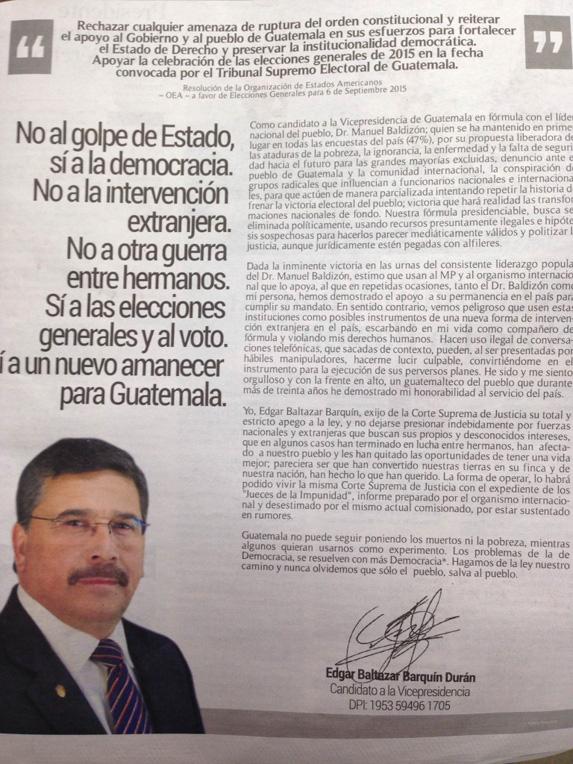 El campo pagado de Edgar Barquín.