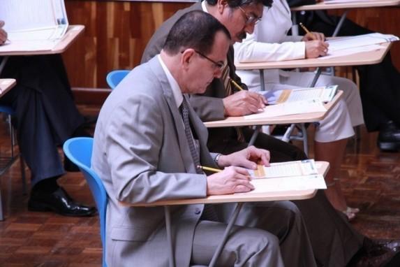 Julio RIvera, en el concurso para ser jefe del MP. Foto: CMIguate.org