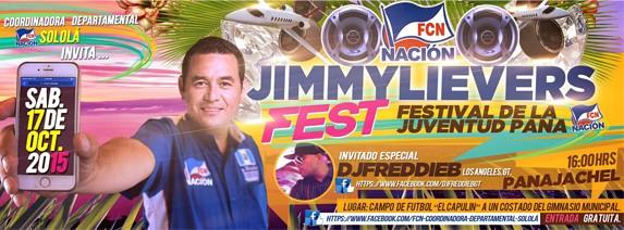 Invitación al 'JimmyLieversFest' (Foto: Facebook, FCN Sololá).
