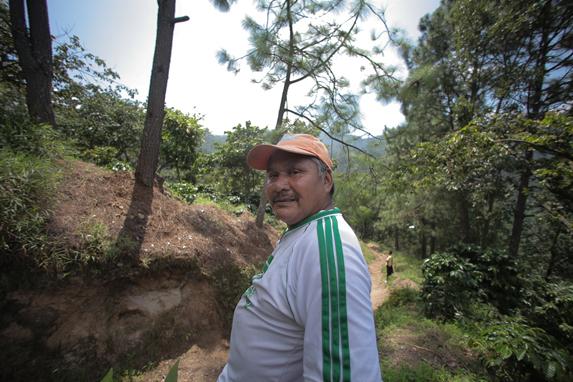 Romeo Domingo Gómez, ex candidato a alcalde del PP en Colotenango, Huehuetenango.