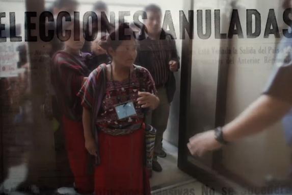 Mujeres ixiles en una escena del documental 'El buen cristiano'.