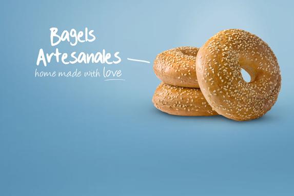 Bagels como deben ser (Imagen: Nana's Bread).