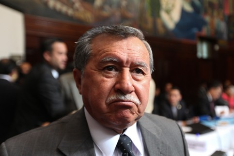 El diputado electo, antes de enterarse de la acusación en su contra.