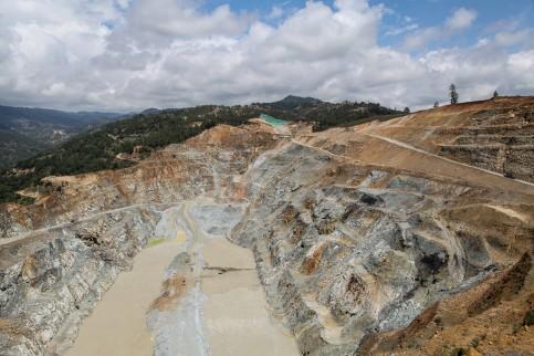 La explotación de oro de Montana en San Marcos.