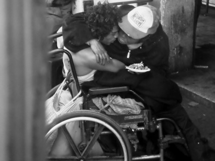 Amor callejero.
