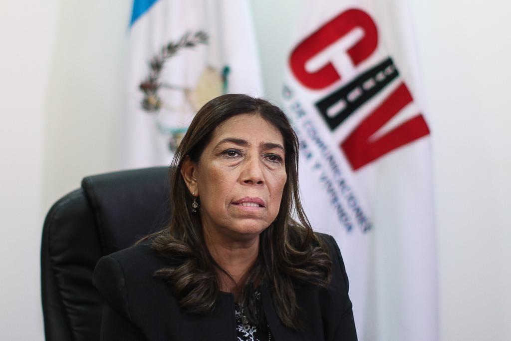 Sherry Ordonez ministra de comunicaciones en conferencia de prensa indico que continuara en el cargo.