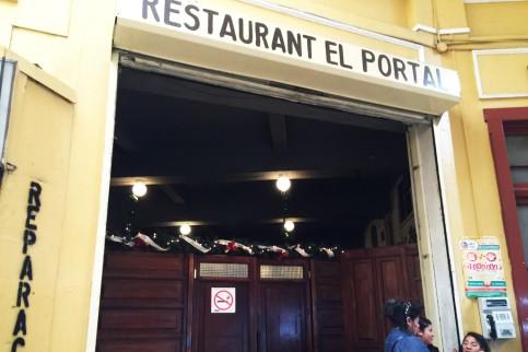 En el Pasaje Rubio -dentro del Portal de Comercio- se encuentra El Portalito: un lugar de culto.