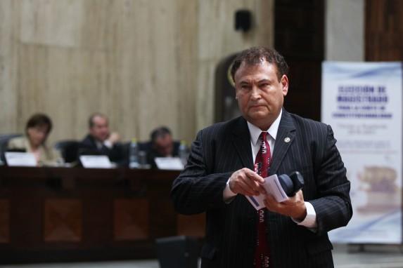 Giovanni Orellana, candidato a la CC, ahora desde el Congreso.
