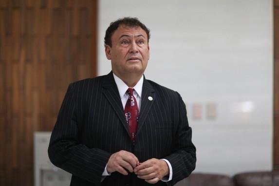 Giovanni Orellana, candidato.