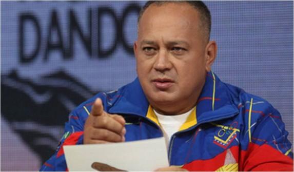 Diosdado Cabello, número dos de la Revolución Boliviariana. Foto: IPYS-Venezuela.