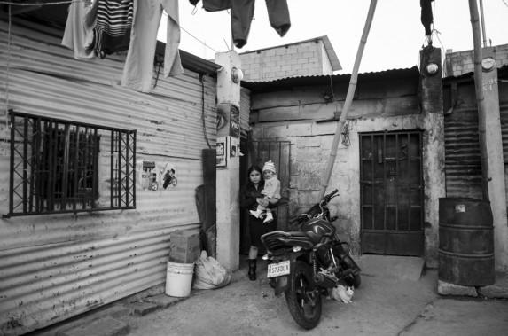 La casa de Liliana Cahabón.