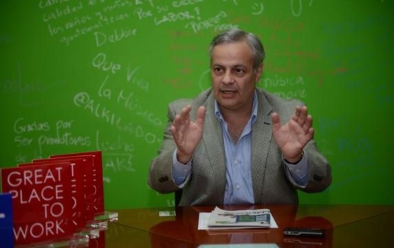 Thomas Dougherty Novella, presidente de Cementos Progreso. Foto: Publinews.