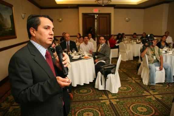 Álvaro Mayorga, en una foto de CGN.