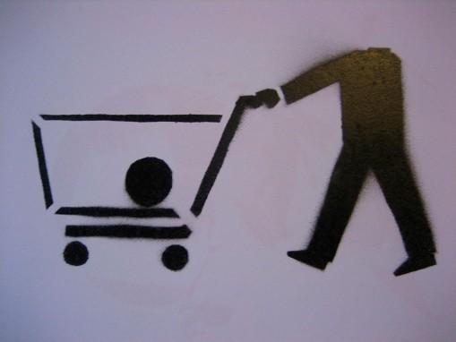 Stencil shopping cart