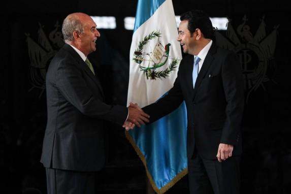 Mario Taracena y Jimmy Morales, presidentes del Congreso y del Gobierno, lideraron a sus partidos para aprobar estas reformas.