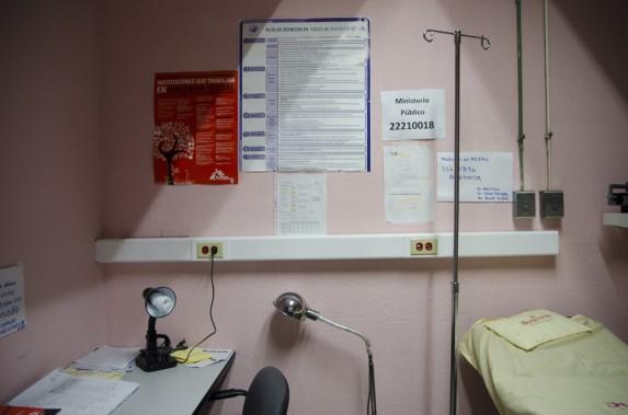 El hospital General San Juan de Dios cuenta con tres clínicas para atender a víctimas de violencia sexua.