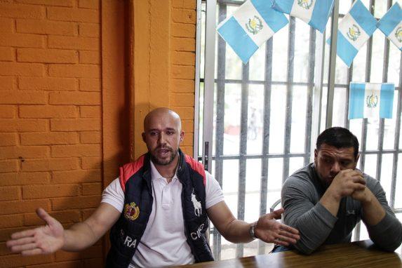 Guillermo Prera y Darwin Santos ocupan la AEU desde 2013.