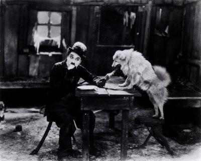 """""""La Quimera de Oro"""" Charles Chaplin hizo de la actuación cómica una experiencia artística. 1925"""