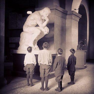 """""""El Pensador"""". Auguste Rodin. 1889."""