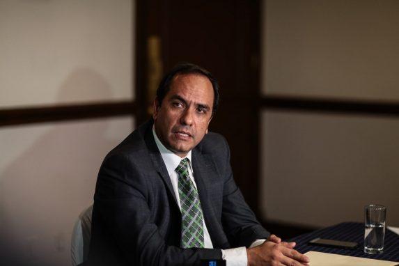 Alejandro Balsells, durante una conferencia de prensa en 2016.
