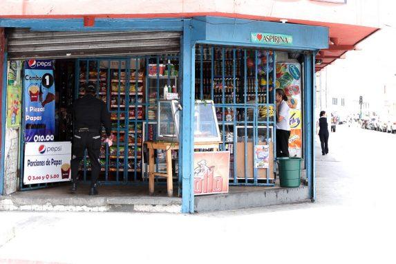 Otra tienda en la Ciudad.