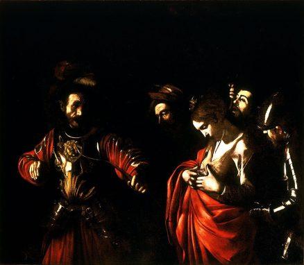 """""""El Martirio de Santa Úrsula"""" Michelangelo Caravaggio. 1610."""