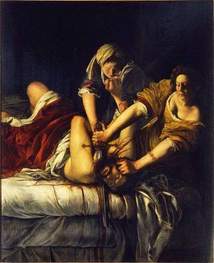 """""""Judith y Holofernes"""" Artemisia Gentileshi. 1612."""
