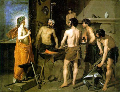 """""""La Fragua de Vulcano"""" Diego Velázquez. 1630."""