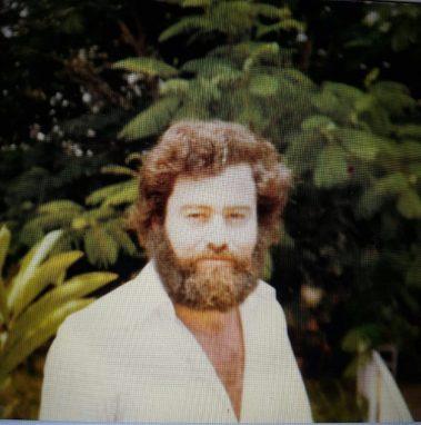 Emil Bustamante, en los 80.