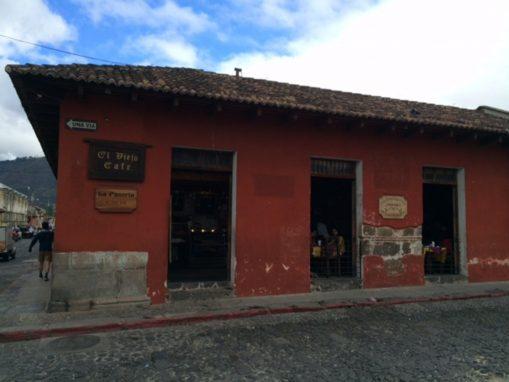 Fachada de El Viejo Café
