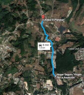 Imagen desde el satélite de Google.