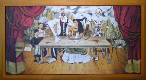 La mesa herida de Frida Kahlo
