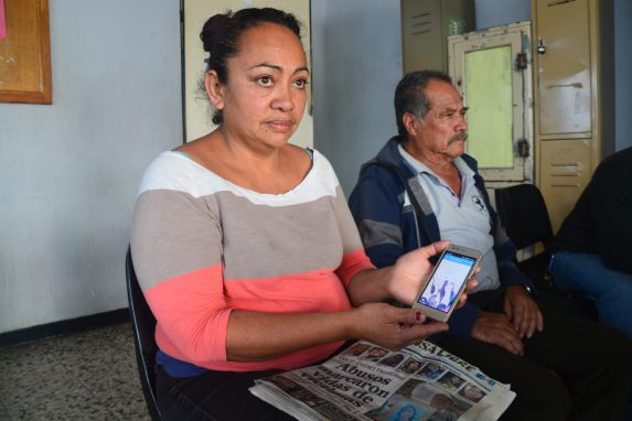Claret Hernández se enteró por una portada de un diario que su hija estaba entre las fallecidas.